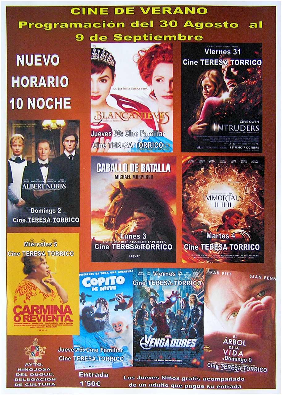 Cine de verano 2012