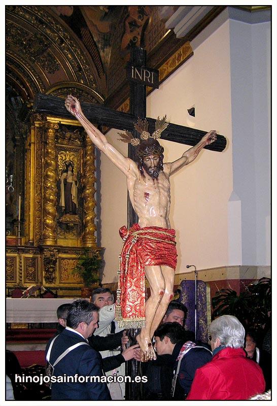 IMAGEN DEL STMO. CRISTO DE LA MISERICORDIA EN BESAPIÉ