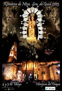 Cartel Virgen de GUIA 2013