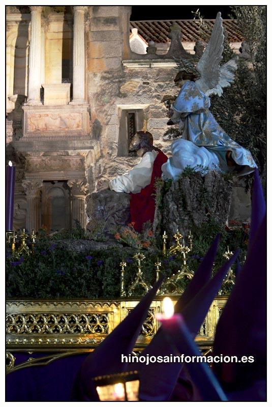 JESÚS ORANDO EN EL HUERTO. JUEVES SANTO 2013