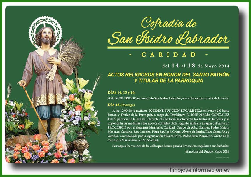 cartelsanisidro2014