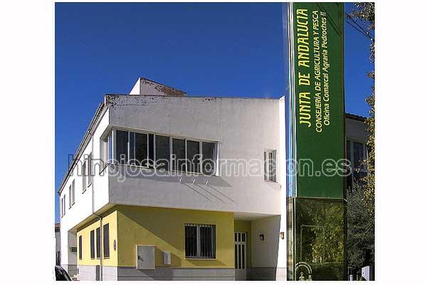 Francisco zurera visita la oficina comarcal agraria for Oficina comarcal agraria